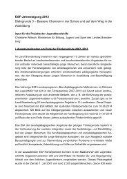 Impulsreferat - LASA Brandenburg GmbH