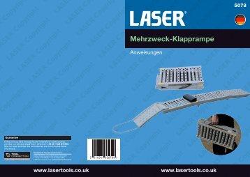Mehrzweck-Klapprampe - Laser Tools