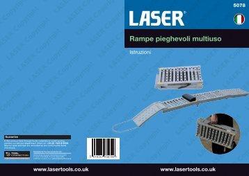 Rampe pieghevoli multiuso - Laser Tools