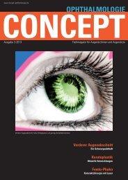Concept Ophthalmologie, Heft 3/2013 - Klinikum Ernst von ...