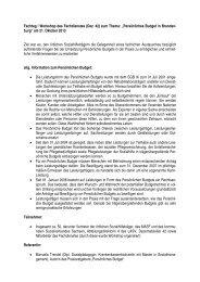 Auswertung des Fachtages_Persönliches Budget.pdf - LASV