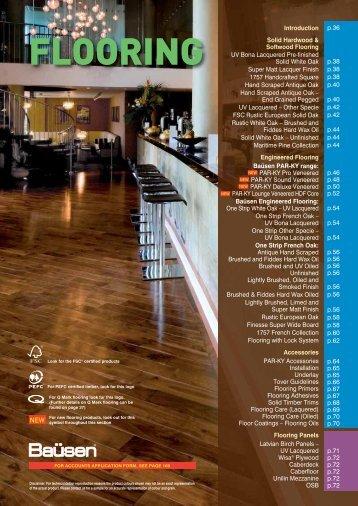 Flooring Section - Latham
