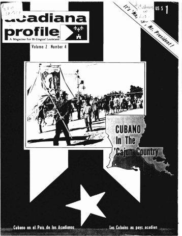 Cubano in the 'Cajun Country - Latin American Studies
