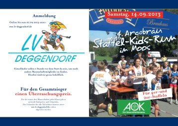 Staffel-Kids-Run Staffel-Kids-Run - Laufverein Deggendorf e.V.