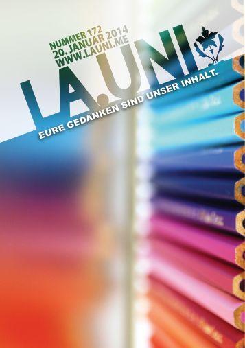 Download der Ausgabe La.Uni172 als PDF