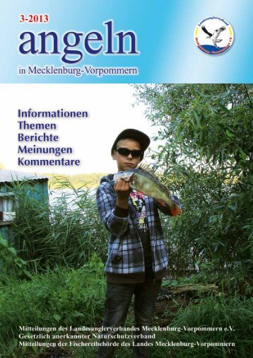 Ausgabe 3-2013 - Landesanglerverband Mecklenburg-Vorpommern ...