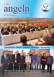 Ausgabe 1-2013 - Landesanglerverband Mecklenburg-Vorpommern ...