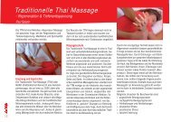 Traditionelle Thai Massage - La Vida Magazin