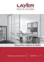 Preisliste Gleittüen Layer.indd - Layer-Großhandel GmbH & Co. KG