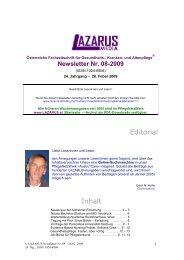 Newsletter Nr. 08-2009