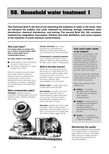 58 - Household water treatment 1.p65 - Loughborough University