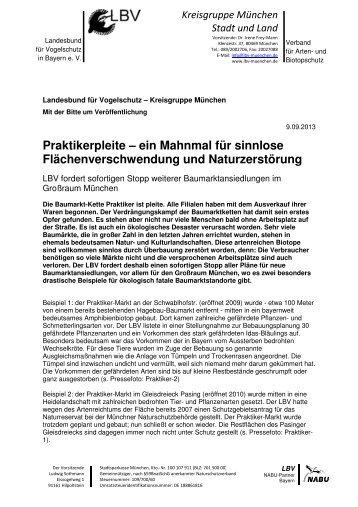 LBV-PI-Praktikerpleite-Muenchen 1 - LBV München