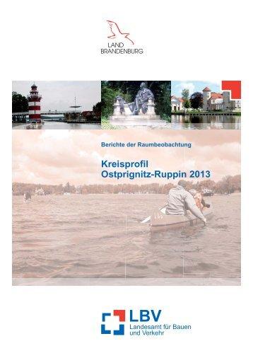 Kreisprofil Ostprignitz-Ruppin 2013 - LBV - Brandenburg.de