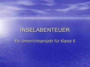 "Projekt ""Inselabenteuer"""