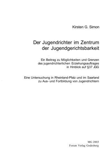 Inhaltsverzeichnis (LBZ-RLP) - Landesbibliothekszentrum ...