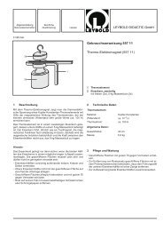 Gebrauchsanweisung 557 11 Thermo-Elektromagnet - LD DIDACTIC