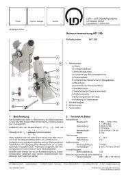 [667 359] Labor-Refraktometer - LD DIDACTIC