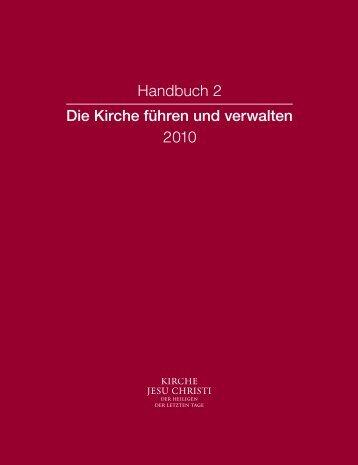 Handbuch 2 Die Kirche führen und verwalten 2010