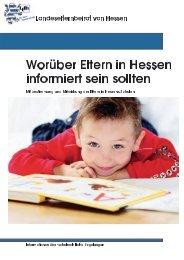 Worüber Eltern in Hessen informiert sein sollten