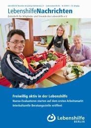 PDF Dokument Download - Ausgabe 4/2012 - Lebenshilfe Berlin