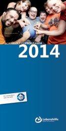 Das Fortbildungsprogramm 2014 des Landesverbandes