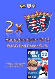 WJSG Bad Soden/S./N.! Viertelfinale deutsche Meisterschaft