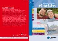 Ausgabe 01/2013 ( PDF , 3,7 MB ) - Lebenshilfe Lemgo eV