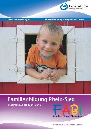 Familienbildung Rhein-Sieg - Lebenshilfe NRW