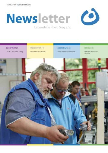 Newsletter - Lebenshilfe Rhein Sieg