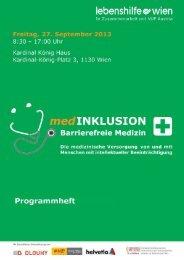 Programmheft - Lebenshilfe Wien