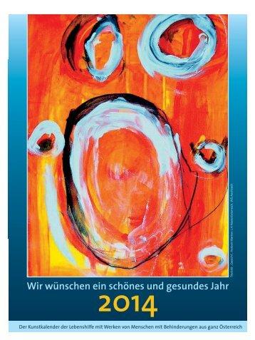 Wandkalender - Lebenshilfe Wien