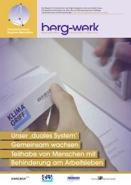 Ausgabe 01/2011 - Lebenshilfe Wuppertal
