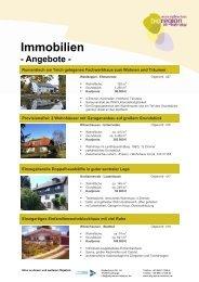 Immobilien - Werra-Meißner-Kreis