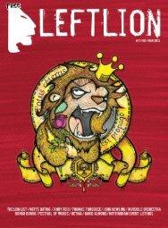 Left Lion magazine - LeftLion.co.uk