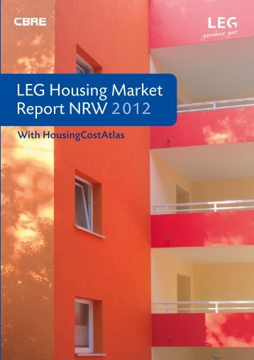 LEG Housing Market Report NRW 2012