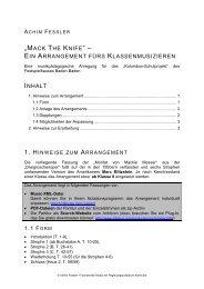 """MACK THE KNIFE"" – - Lehrer.uni-karlsruhe.de"