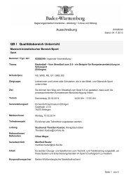 Ausschreibung QB I Qualitätsbereich Unterricht - Lehrer-Uni ...