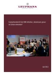Final Evaluationsbericht GGSE Leuphana Design - Fortbildung NRW
