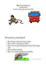 Mein Feuerwehrbuch - Lehrerweb