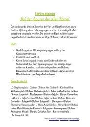 Kastell Vindobona - Lehrerweb