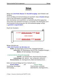 Station Belege - Lehrerweb