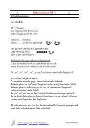 Erläuterungen zu AB 11 - Lehrerweb.at