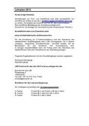 Lehrplan 2013