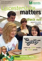web version lm issue 24 - Leicestershire County Council