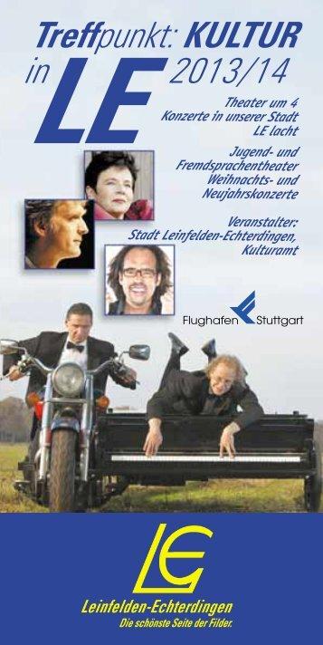 Treffpunkt: KULTUR 2013/14 - in Leinfelden-Echterdingen