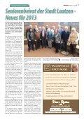 Senioren Journal 01/2013 - LeineVision - Page 7