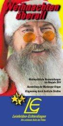 Weihnachten überall - in Leinfelden-Echterdingen