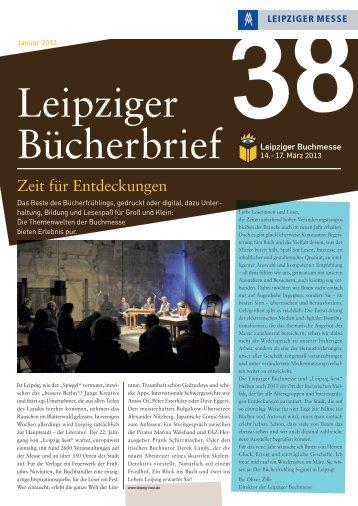 X Zeit für Entdeckungen - Leipziger Buchmesse