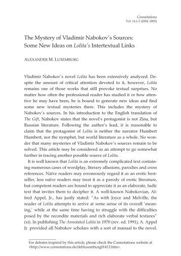 The problem with Nabokov