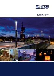 NEUHEITEN 2013 - Leipziger Leuchten